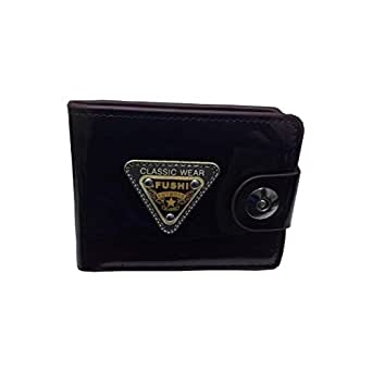 FUSHI Classic Leather wallet for Men