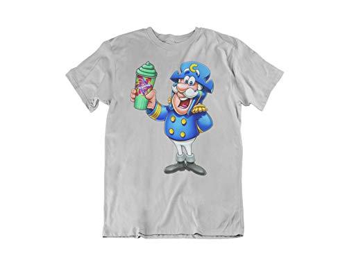 7-Eleven Cap'n Crunch's Crunch Berries Slurpee T-Shirt (Large) Grey]()