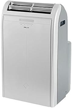 Proline GR120S - Aire acondicionado, deshumidificador, ventilador, calefacción, color plata: Amazon.es: Hogar