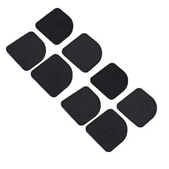 8pcs Square Refrigerator Non-slip Mute Mat Washing Machine Anti Vibration Pad Shock Pads