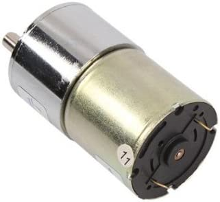 Getriebemotor,Gear Motor DC 12 V Metall High Torque Electric Gear Reduction Motor 15~200 RPM Au/ßendurchmesser 20 MM Motor Getriebe DC Getriebemotor,Ger/äuscharm 100 RPM