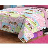 Country Meadows Horses Twin Bed Comforter Pretty Pony Bedding