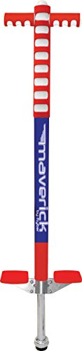 Flybar Foam Maverick Pogo Stick - Red/White/Blue American Pride Style. ()