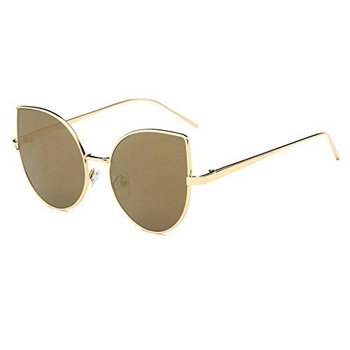 Aoligei Oeil de chat personnalité soleil du tendance lunettes de soleil du lunettes de soleil femme mode européen VWa3fs71