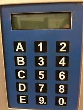 (Genesis combo vending machine model 173 keypad office deli)
