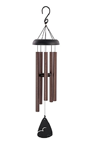 Carson Home Accents Signature Series Chimes 36-Inch Bronze Fleck Chime