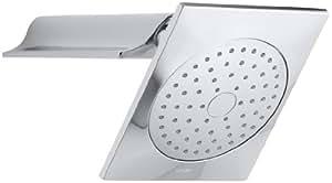 KOHLER K-14787-CP Stance Showerhead with Shower Arm, Polished Chrome