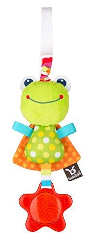 Benbat Dazzle Friends Frog Jitter Stroller Toy, Green