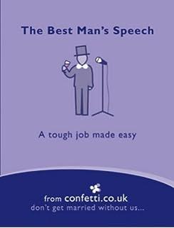 confetti the best man s speech duties amazon co uk confetti co