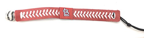 (St. Louis Cardinals Team Color Baseball Bracelet)
