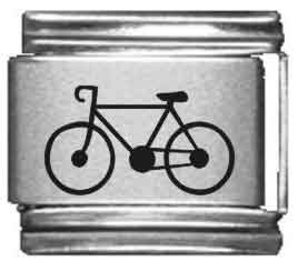 Bicycle Laser Italian Charm