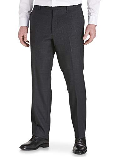 Jack Victor Stretch Reflex Flat Front Suit Pants Black ()