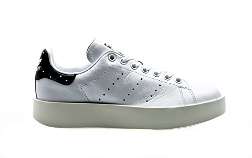 Adidas Originals Women's Stan Smith Bold Leather Trainer in Size 7.5 US (6 UK / 39 1/3 EU) White