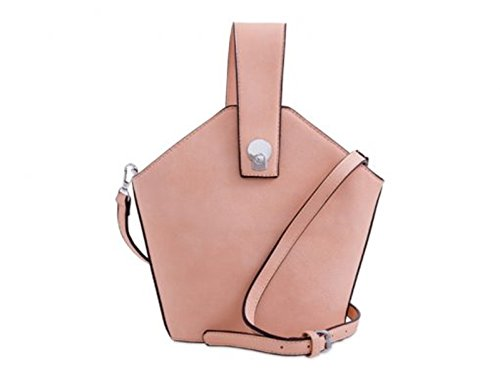 LeahWard Women's Faux Leather Clutch Bag Wedding Cross Body Handbags Pink
