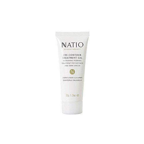 眼輪郭処理ゲル(35グラム) x4 - Natio Eye Contour Treatment Gel (35G) (Pack of 4) [並行輸入品] B072P27HHF