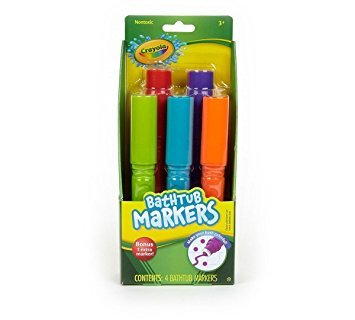 - Crayola Bathtub Markers, Assorted Colors 4 ea