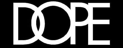 DOPE - Gorra plana, color negro: Amazon.es: Deportes y aire libre