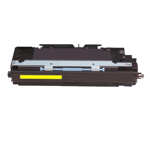HI-VISION Remanufactured HP 309A Q2672A Yellow Toner Cartridge Replacement for Color LaserJet 3700,3500,3550,3500n,3700dn,3700dtn,3550n,3700n (Q2672a Yellow Remanufactured Toner)