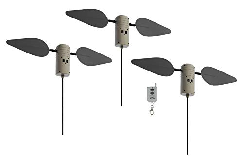 Lucky Duck 10518-4 Field Flasher with Remote Hunting Decoys (Pack 3)