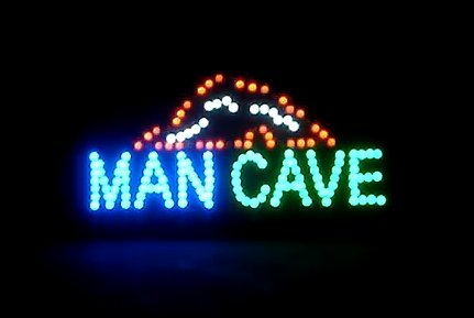 (Neon LED Sign 19 x 10 - Man Cave )