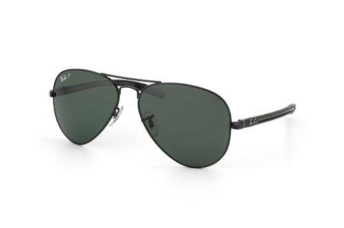 f8c914d7b8 Ray-Ban RB8307 C58 Aviator TM Carbon Fibre Sunglasses