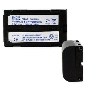 2200mA Replacement Li-Ion Battery for Hitachi VM13J Video Cameras - Empire Scientific #BLI-166 by EMPIRE