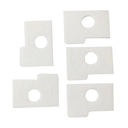 Podoy New Pack Of 5 Replace Air Filter Fit For Stihl MS170 MS180 017 018 Chainsaw 1130 124 08/ 1130 124 0800