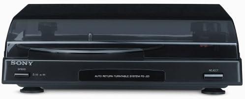 Sony Record Player PS-J20 Silver - Tocadiscos: Amazon.es: Electrónica