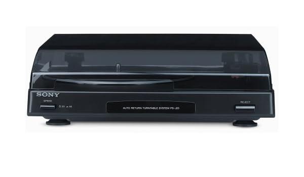 Sony Record Player PS-J20 Silver - Tocadiscos: Amazon.es ...