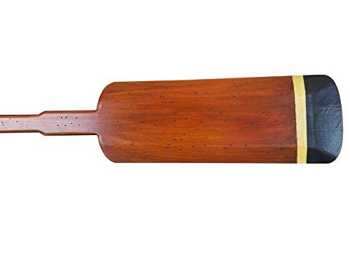 Wooden Huntington Squared Rowing Oar w/ Hooks 62