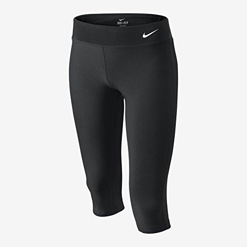 Nike Big Girls' (7-16) Dri-Fit Legend Tight Capris-Black-XL
