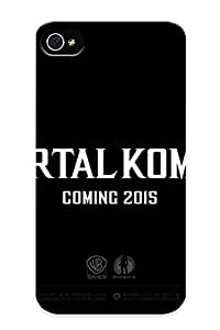 Hot Mortal Kombat X Fighting Fantasy Warrior Action (25) First Grade Tpu Phone Case For Iphone 4/4s Case Cover