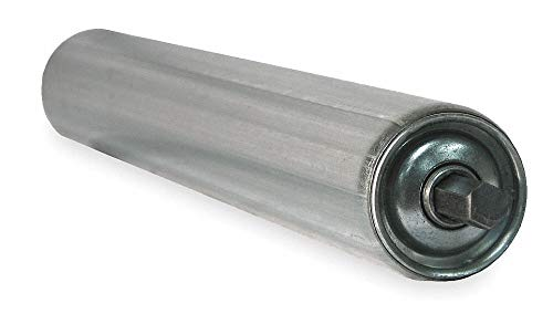 Galv Replacement Roller, 1.9In Dia, 25BF by Ashland Conveyor (Image #1)