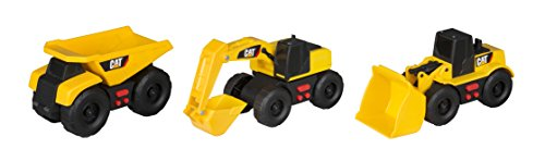 Toy State Caterpillar Cat Mini Mover Light and Sound Dump Truck (3 ()
