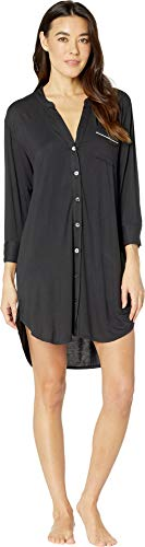 UGG Women's Vivian Knit Sleepshirt Black Medium -