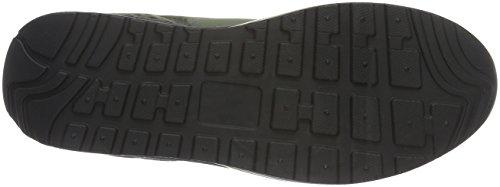 Kanga Niños Unisex 825 Grün Zapatillas Kangaroos olive X 2200 black dwqInX1
