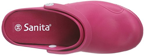 Sanita Aero-Stride, Zuecos para Mujer Rosa - Pink (Pink 13)