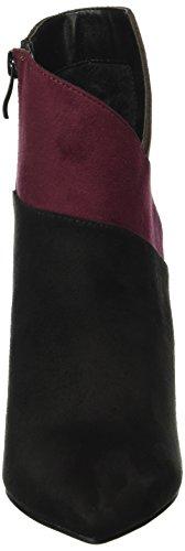 Buffalo Damen B334e-43 S0002 Imi Suede Kurzschaft Stiefel Mehrfarbig (BLACK947)