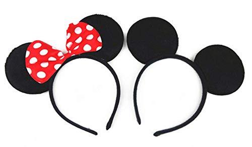 PeaceJoy Mickey Minnie Mouse Ears Headband