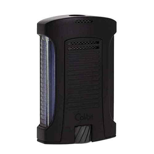 "Colibri ""Daytona"" Single Jet Flame Lighter / Black"