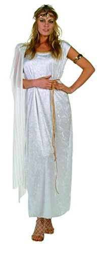 Athena Helmet Costume (OvedcRay Athena Adult Costume Greek Goddess Roman Woman Costumes Dress Toga)