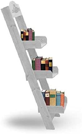 Estanteria-Escalera Blanca: Amazon.es: Hogar