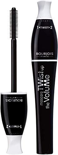 Bourjois Twist Up The Volume for Women Mascara, No. 21/Black, 0.27 Ounce