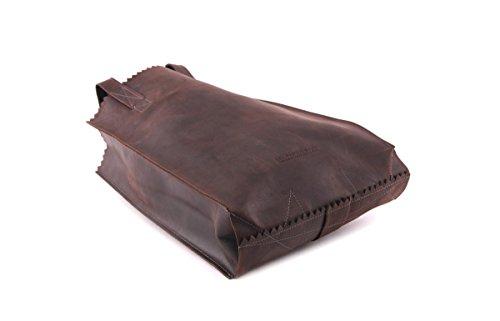MYOMY MY PAPER BAG - Shopper in dark chocolate