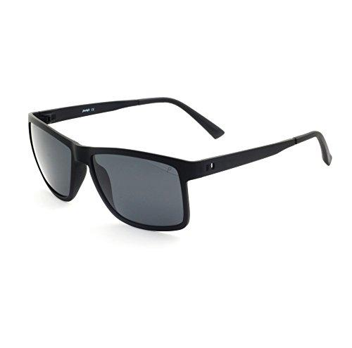 Tacloft Classic Wayfarer Polarized Sunglasses for men HD TR90 Durable Unbreakable Frame TR004