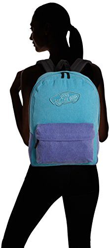 Vans - Realm, Mochila Mujer, Azul (capri Breeze Washed), Talla Unica Azul (Capri Breeze Washed)