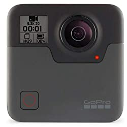 Image of the product GoPro Fusion   360 that is listed on the catalogue brand of GoPro. It is scored with a 4.1 over 5.
