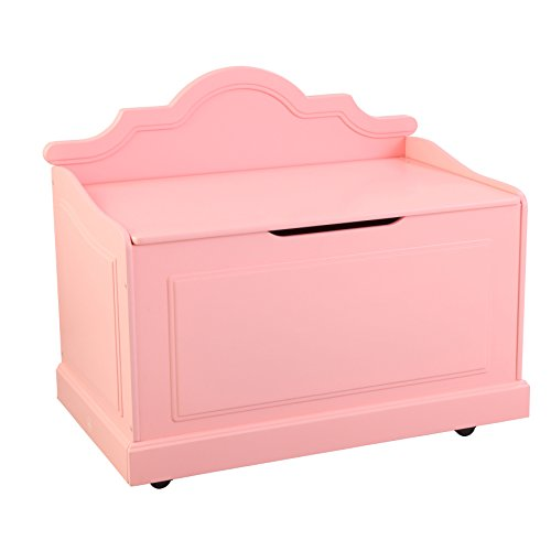KidKraft Girl's Raleigh Toy Box, Pink by KidKraft