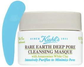 KiehI's Rare Earth Deep Pore Cleansing Masque Travel Size (Free Facial Spatula ()