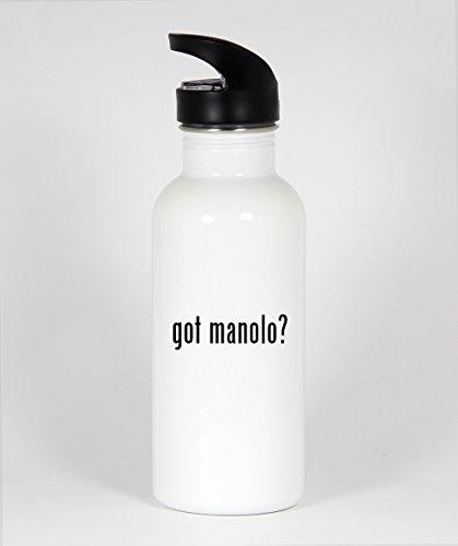 got manolo? - Funny Humor 20oz White Water Bottle